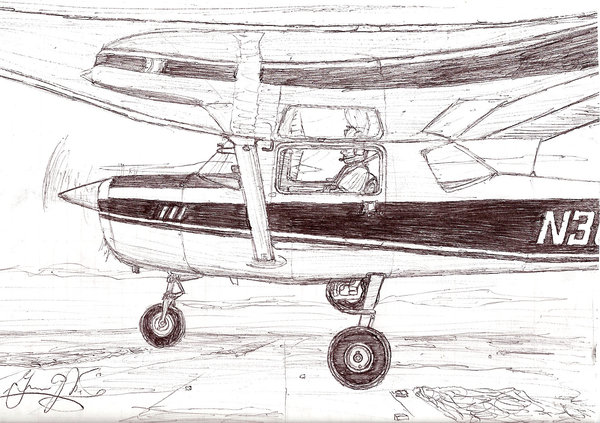 600x423 Cessna 150 By Gonoles