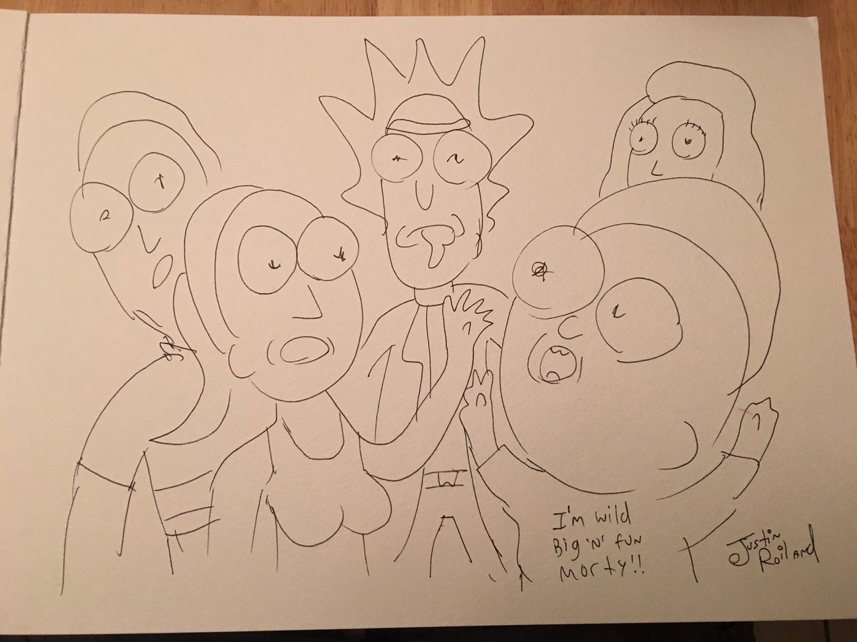 1200x900 Rick (((And Morty))) On Twitter It's Me, Roiland. I'M Drunk