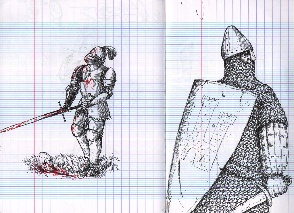 1023x743 Line Shading And Norseman Chainmail By Eol42