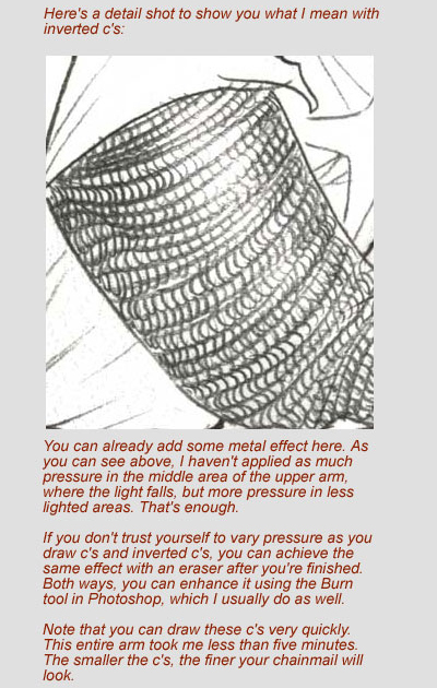 400x630 Tutorial Drawing Chainmail By Gold Seven