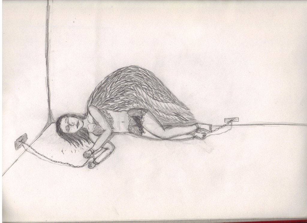 1024x744 Angel In Chains By Thin As Lace