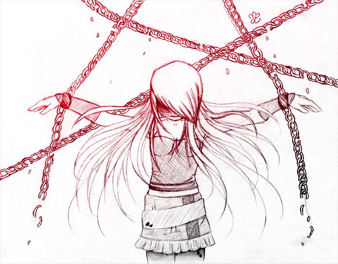 696x544 Broken Chains Sketch By Gezusfreek