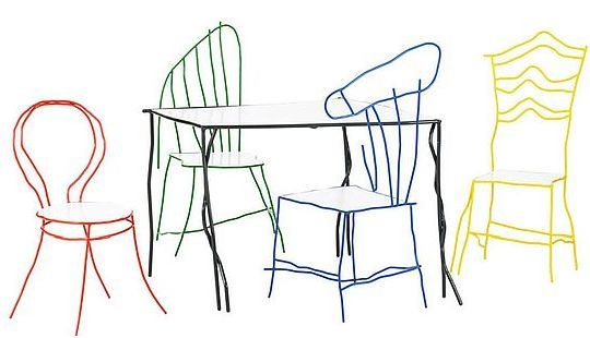 540x310 Furniture Table And Chairs Drawing Table And Chairs Drawing