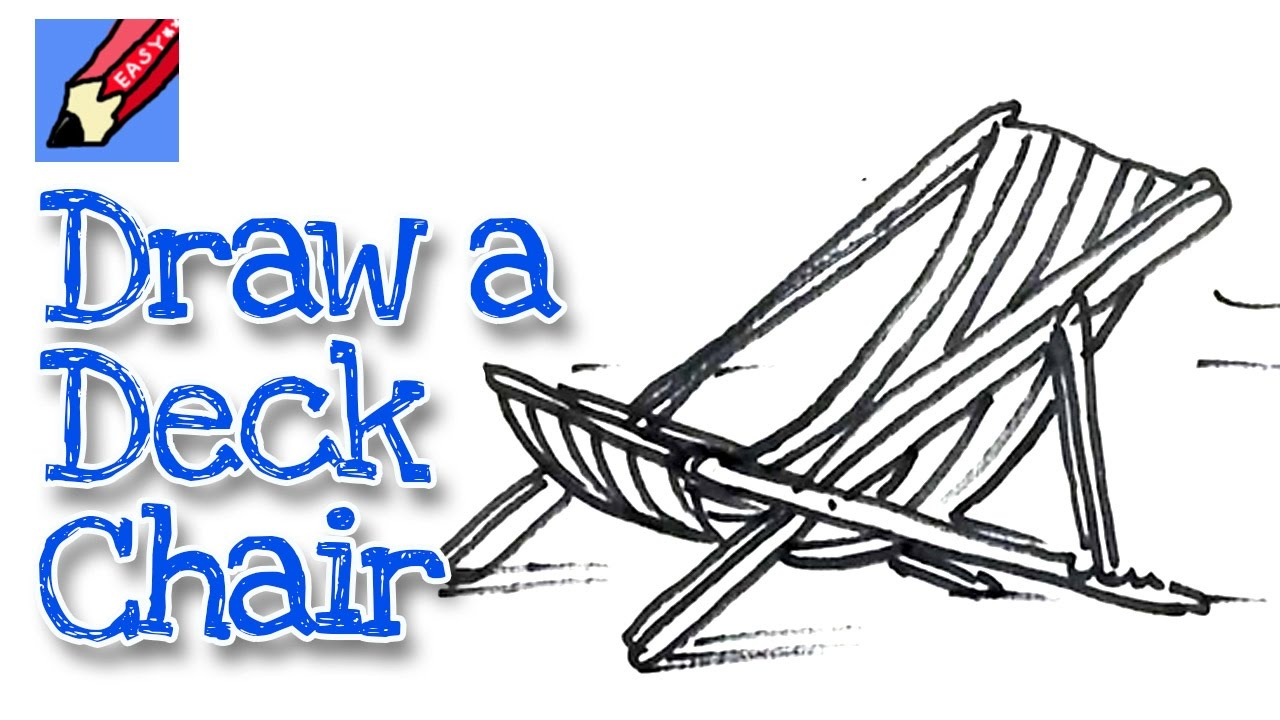 1280x720 How To Draw A Deck Chair Real Easy