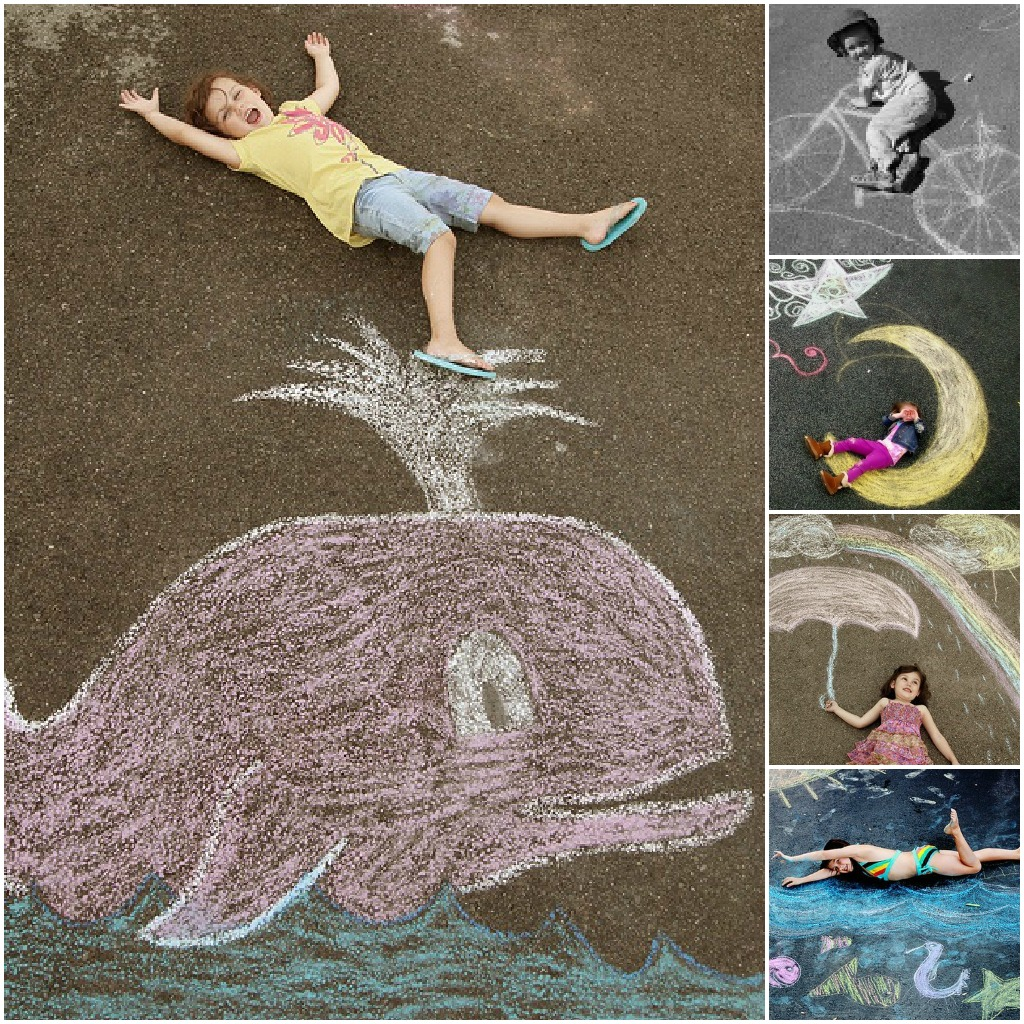 1024x1024 Cute Idea! Chalk Drawing Photos Giggleberry Creations! To Do When