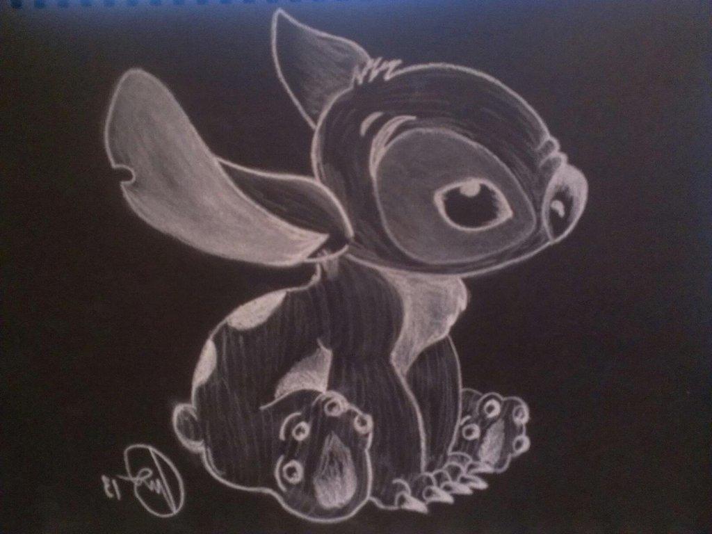 1024x768 Photos Chalk Art On Paper,