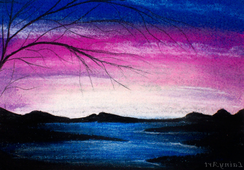 1024x715 Gallery Drawing With Chalk Pastels,