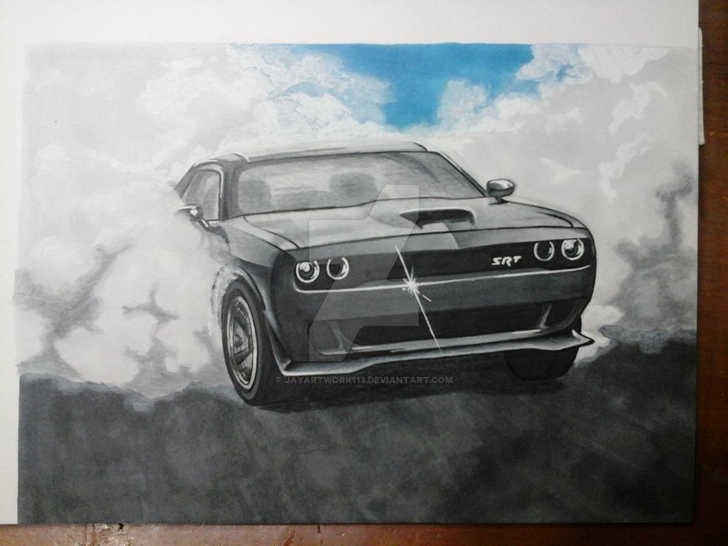 1024x768 Challenger Hellcat By Jayartwork113