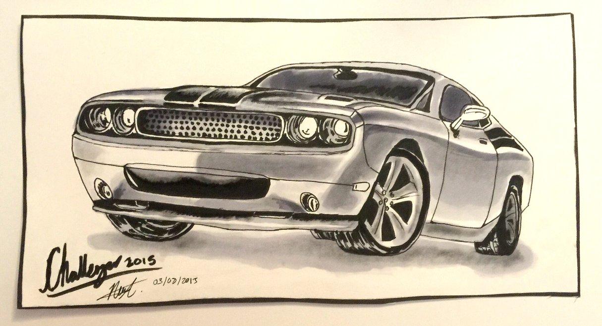 1215x658 Dodge Challenger 2015 By Artxnoa