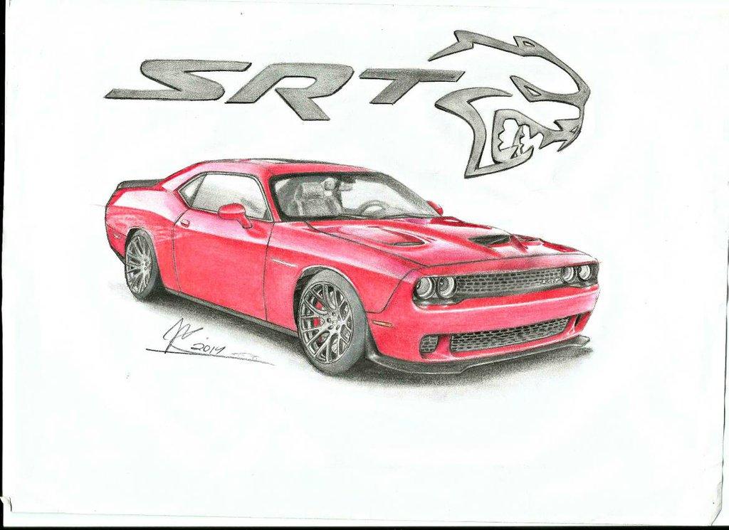 1024x745 Dodge Challenger Srt Hellcat By Jmdesign35