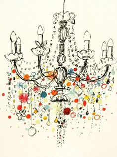 236x315 Four Chandelier Drawings Chandeliers, Drawings And Illustrations