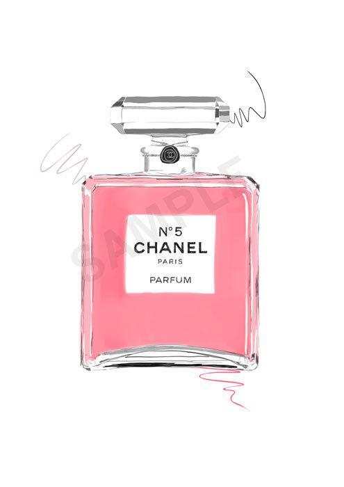 chanel perfume bottle art