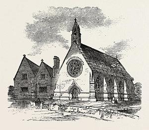 300x262 Old Chapel Drawings Fine Art America