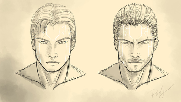 600x340 Draw A Sketch Portrait Of Any Character In My Style For $10