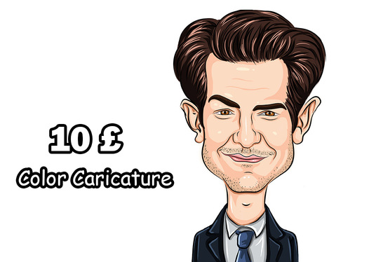 536x374 Freelance Color Caricature Drawing Services Online