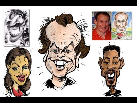 480x360 How To Draw Caricatures Caricature Maker Caricaturist Drawing