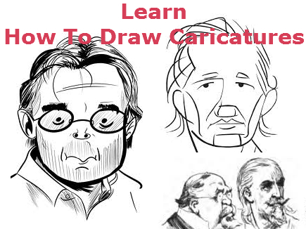 435x326 Simple Rules Of Drawing Apply To Learning How To Draw A Caricature