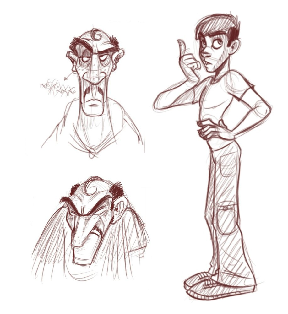 917x1000 How To Draw Slim Male Characters
