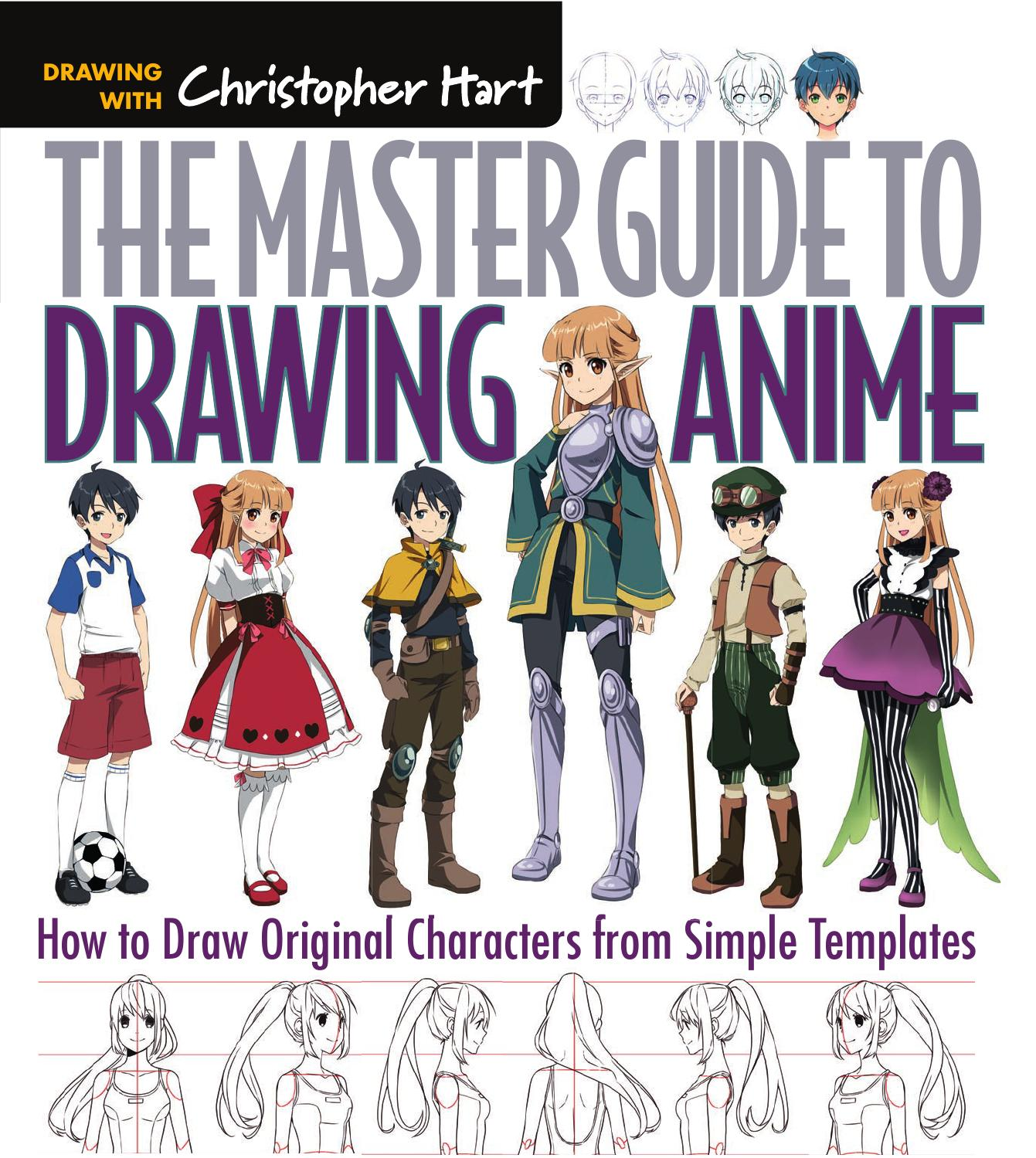 1341x1499 The Master Guide To Drawing Anime How To Draw Original Characters