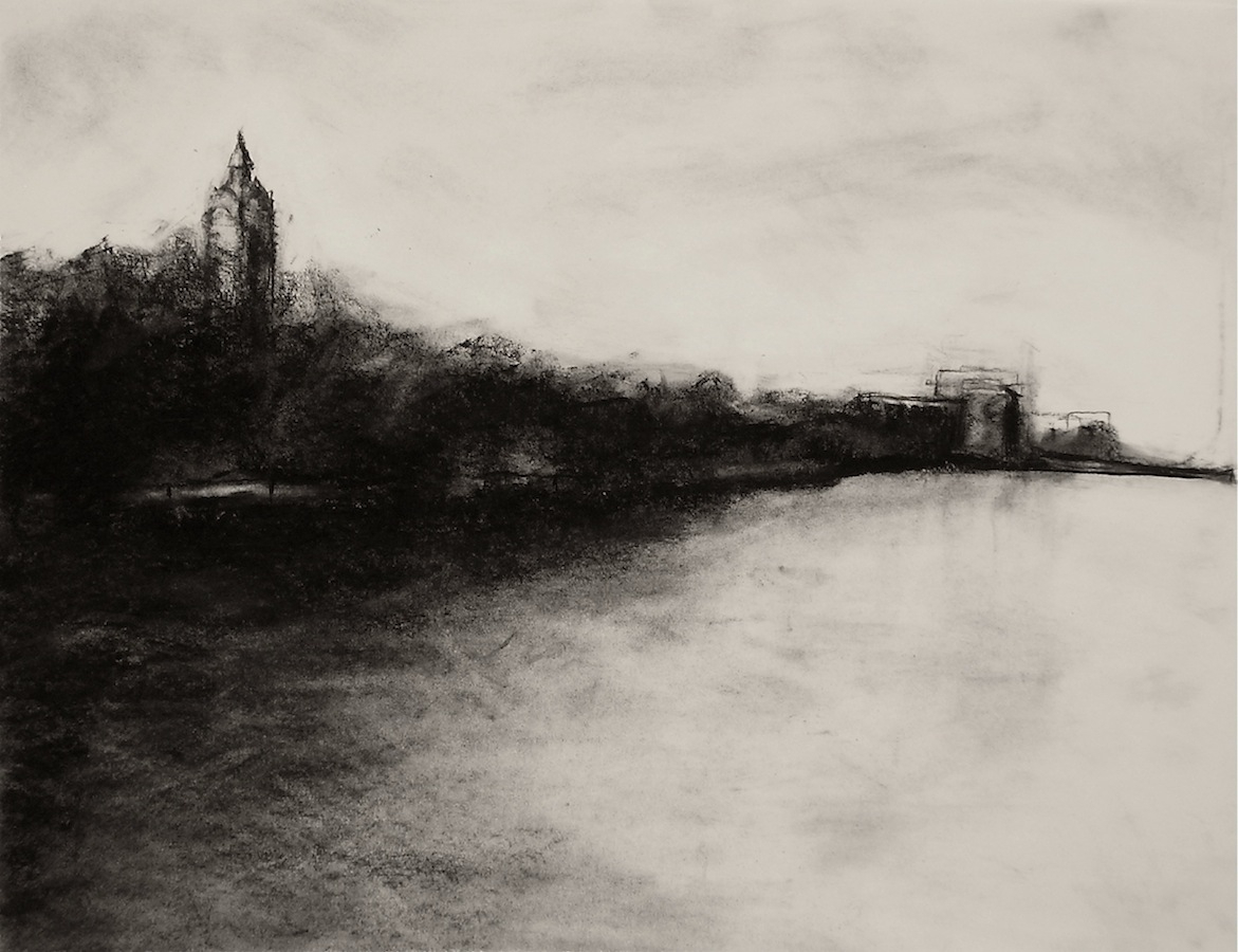 1171x900 Charcoal Landscape Drawing Landscape Charcoal Drawings Charcoal