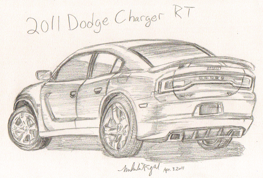 900x610 2011 Dodge Charger Rt By Miahii