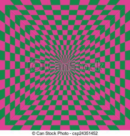 450x470 Checkered Optical Illusion. A Classic Optical Illusion
