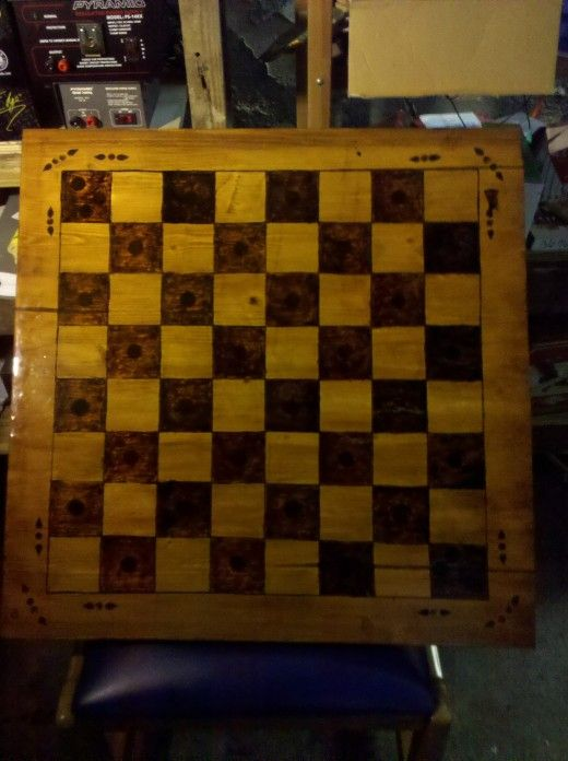 520x696 How To Make A Chess Board Guide To Drawing, Scoring And Wood