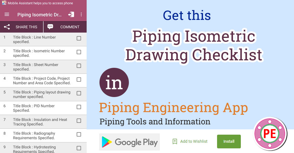 940x492 Checklist Piping Isometric Drawing The Piping Engineering World