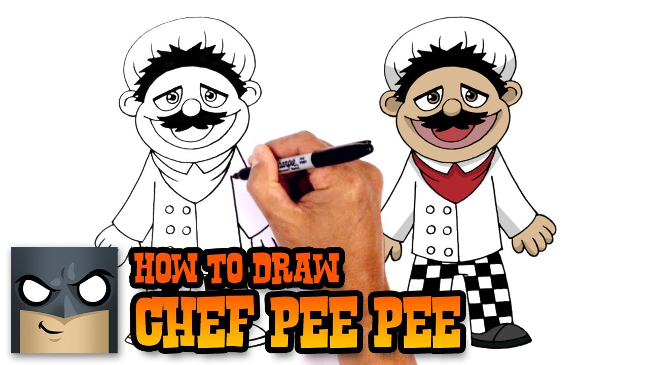 1280x720 How To Draw Chef Pee Pee Super Mario Logan