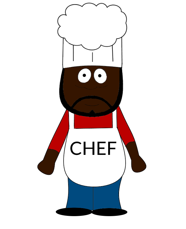 650x800 South Park Chef Drawing By Twisteddarkjustin