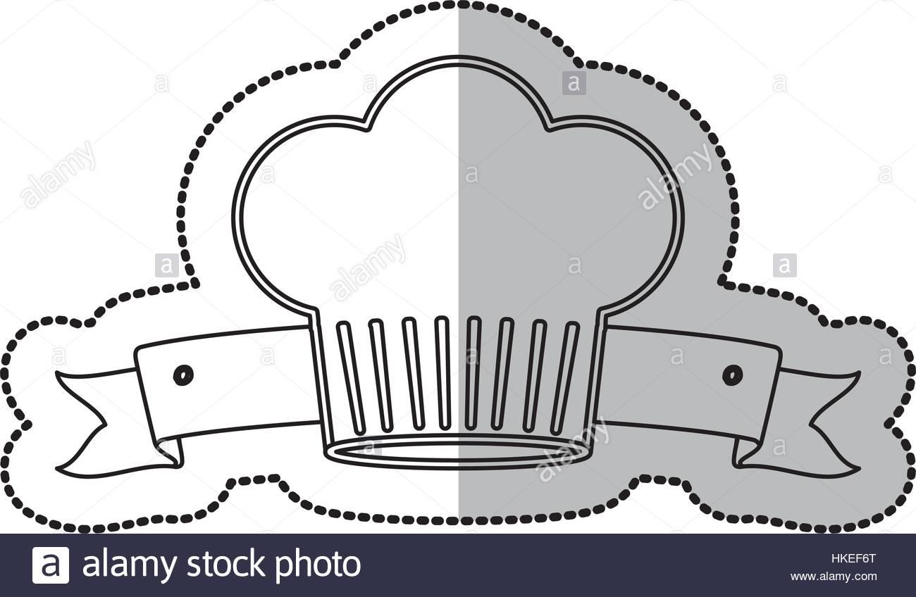 1300x848 Chef Hat Symbol Icon Vector Illustration Graphic Design Stock