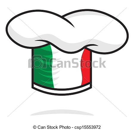 450x436 Italian Chef Hat Vectors Illustration