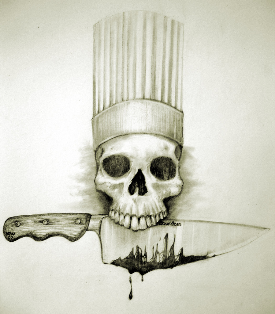 899x1024 The World's Best Photos Of Chef And Skull