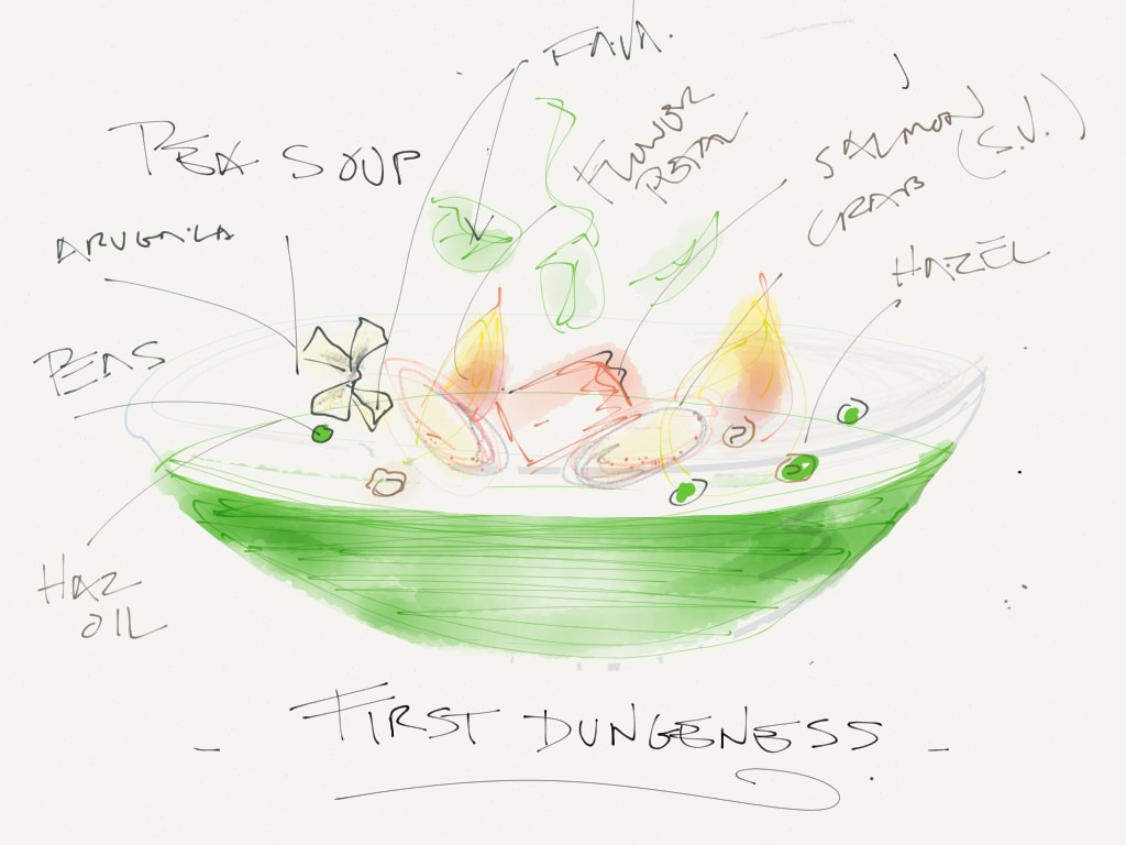 1024x768 Chefs Draw Food, Recipes Using Ipad Made With Paper App