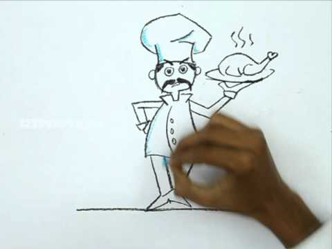 480x360 How To Draw A Chef