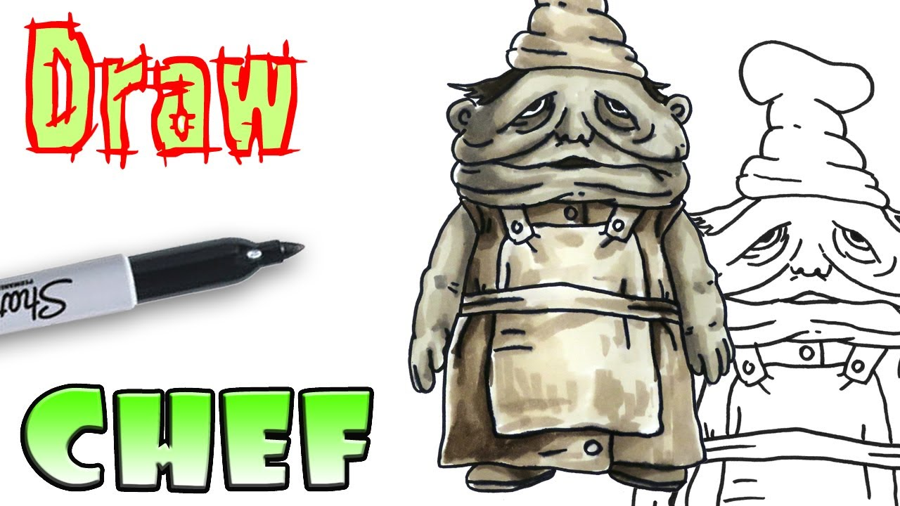 1280x720 How To Draw The Chef