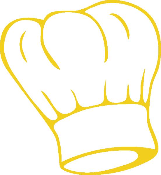 552x599 Chef Hat Gold Clip Art