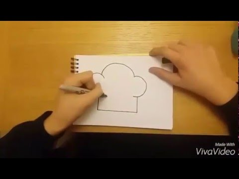 480x360 How To Draw A Chef's Hat Real Easy