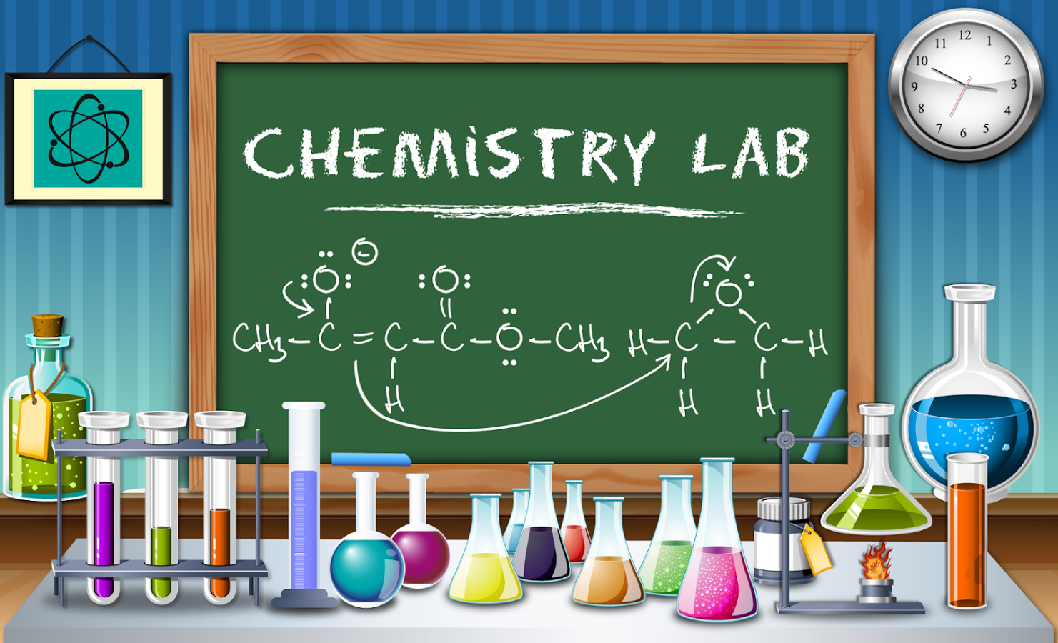 Chemistry Royalty Free Stock Images - Image: 2212759 |Lab Chemist Drawings