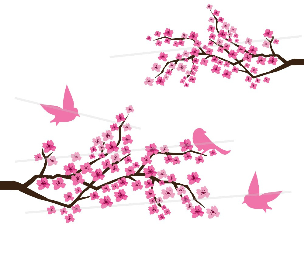 Cherry Blossom Branch Drawing At Getdrawings Com Free For