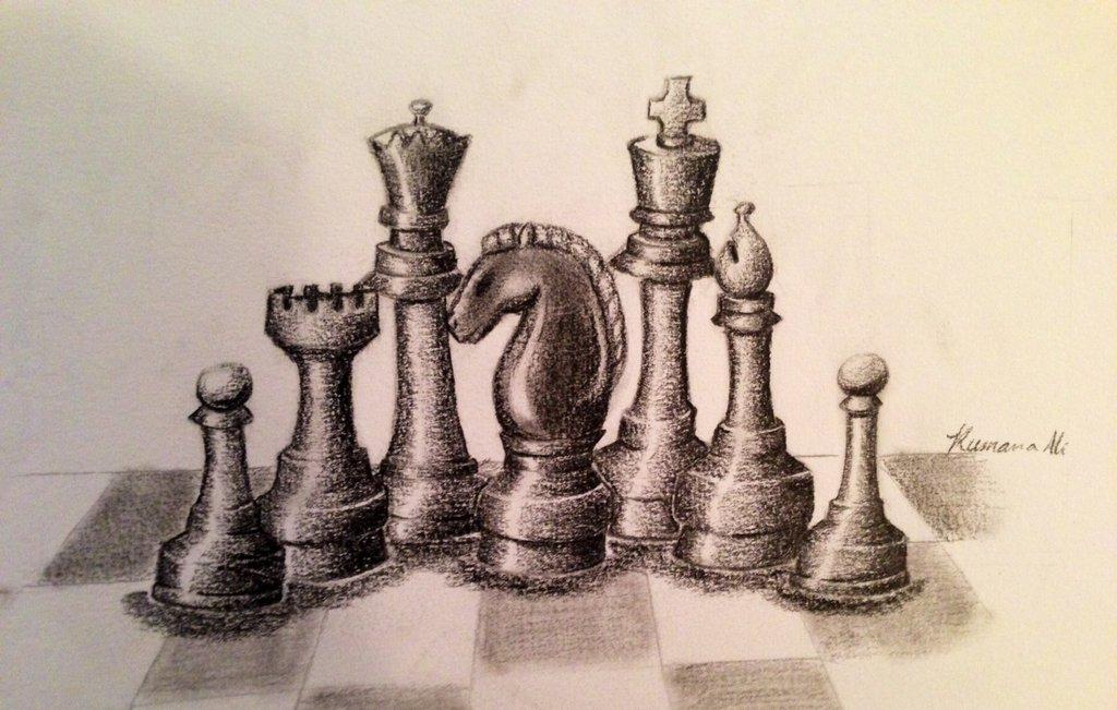 1024x651 Chess Piece Still Life By Snailforpresident
