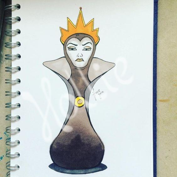 564x564 Evil Queen Chess Piece