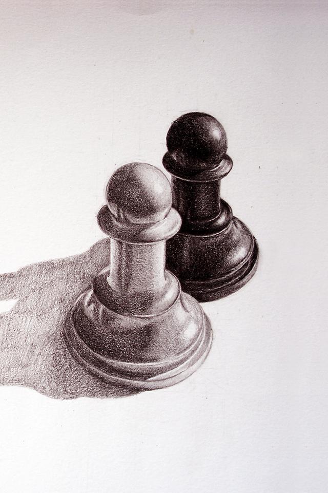 640x960 Chess Drawing Tumblr