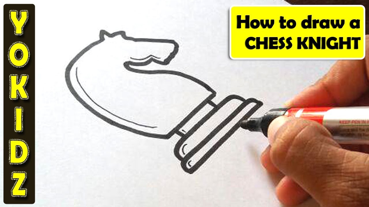 1280x720 How To Draw Chess Knight
