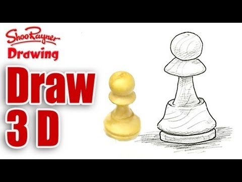480x360 How To Draw A Chess Piece Bishop Shoo Rayner Author