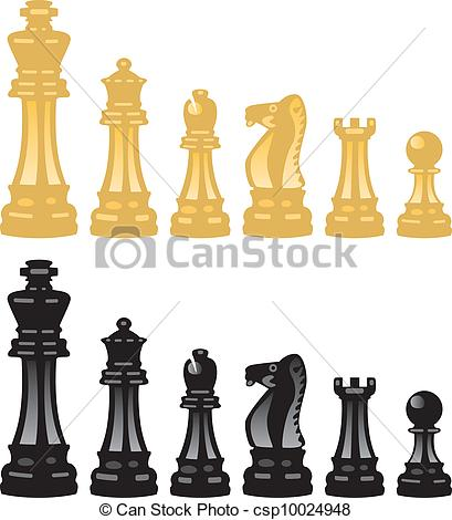 409x470 Vector Set Of Chess Pieces Eps Vector