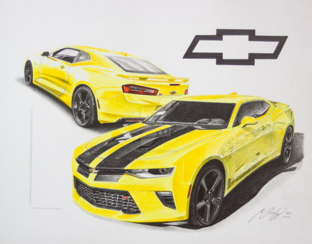 1010x791 Chevrolet Camaro 2016 By Mipo Design