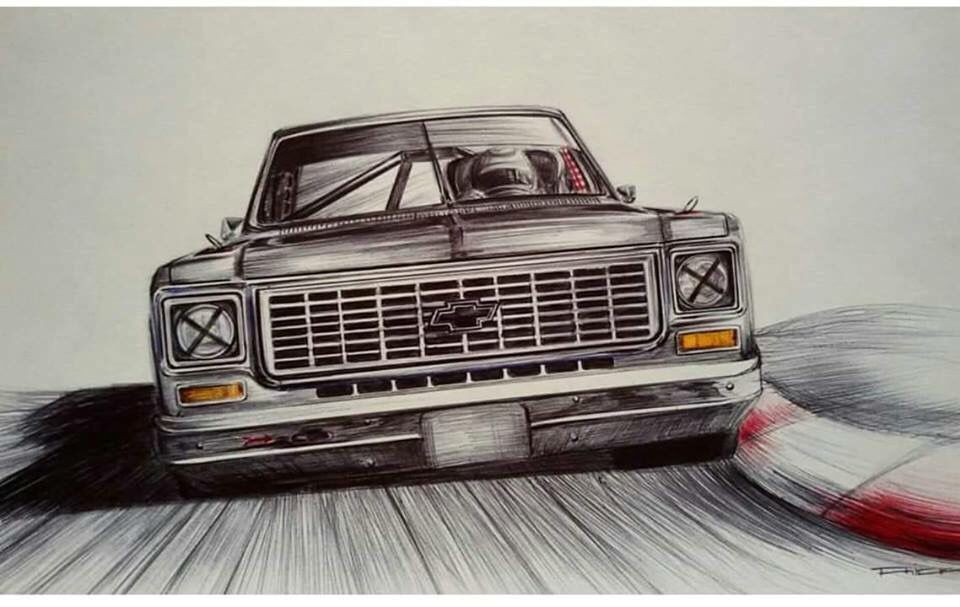 960x607 Protouring C10 Chevy C10 Cars, Car Drawings