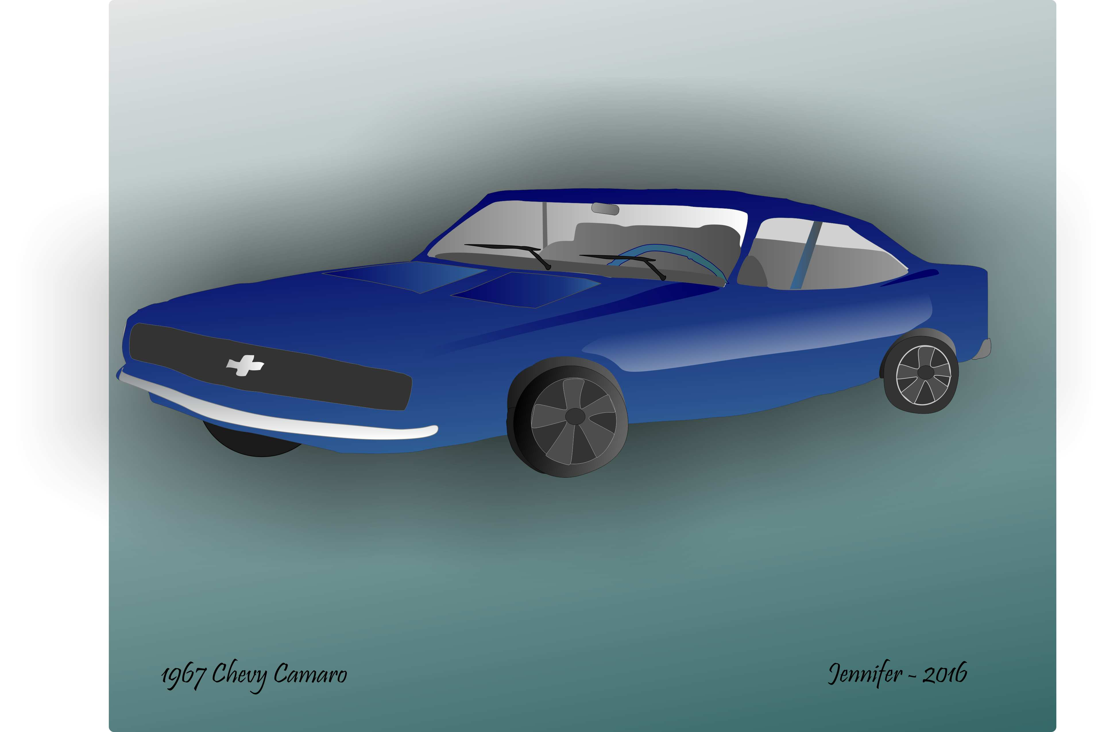 Chevy Camaro Drawing at GetDrawings.com | Free for personal use ...