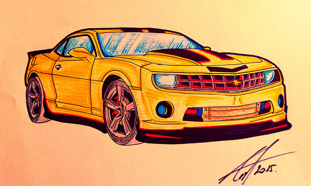 1024x614 Colored Chevy Camaro By Antevohunter